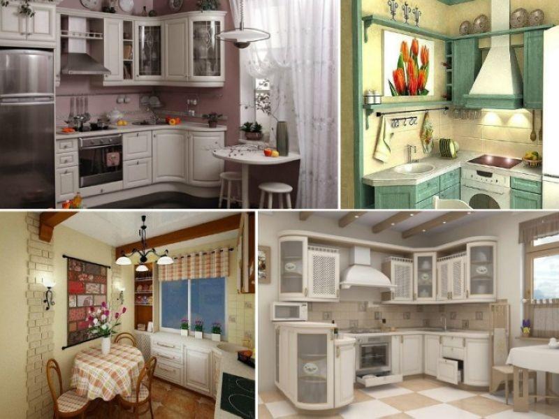 Маленькие уютные кухни